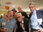 Charlie Running, Steve Kline, Tom Pavek (front), Bill Pritchard, Mike Johnston; photo by Steve Kline's guest, Shann